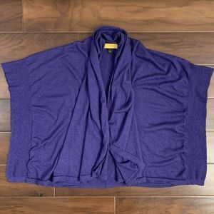 St. John SoCa Open Front Cardigan Sweater